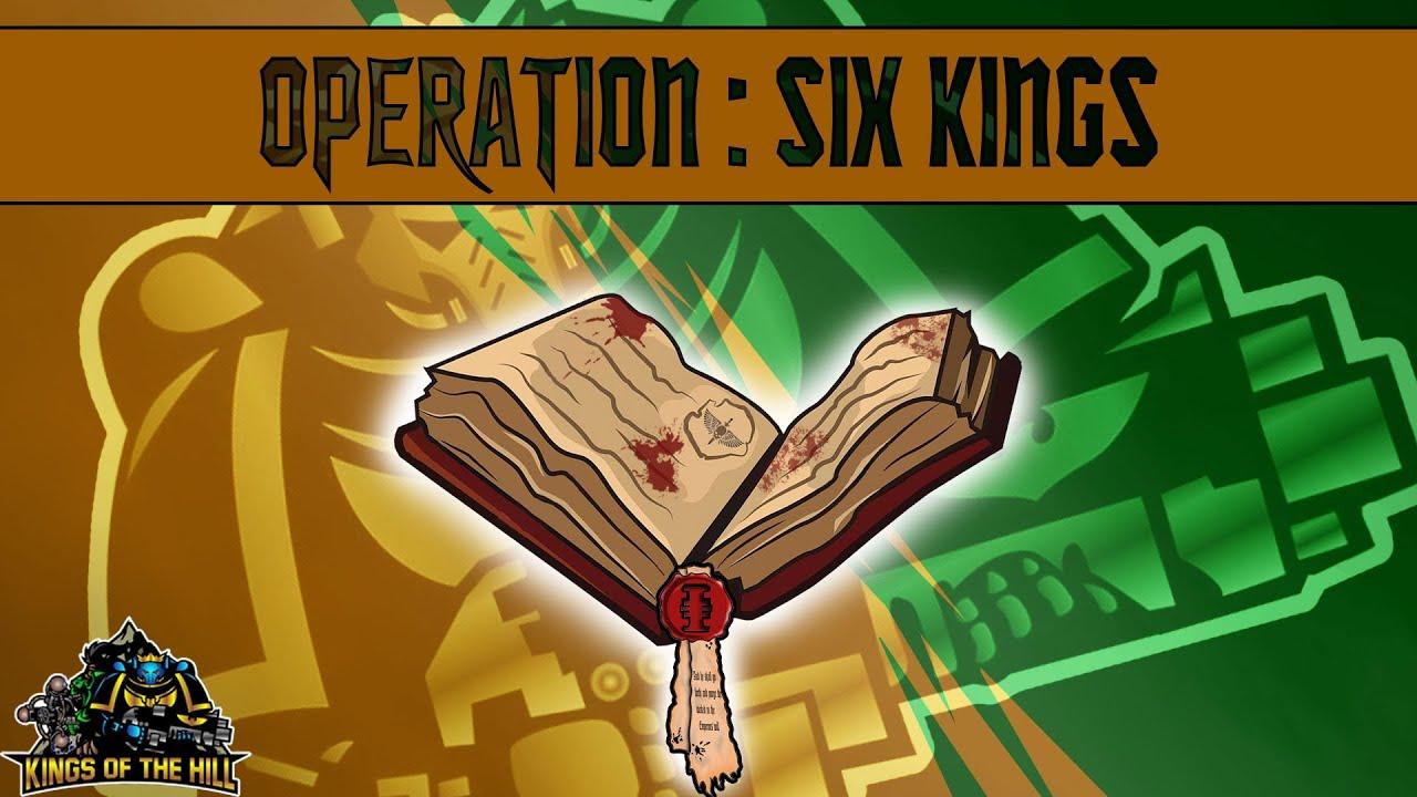 *40k Kampagne* Episode #3 STUNDE NULL - Kings of the Hill & Lukas Warhammer 40k Narrative