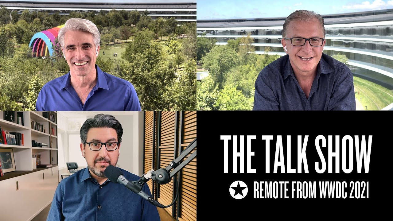 The Talk Show Remote From WWDC 2021