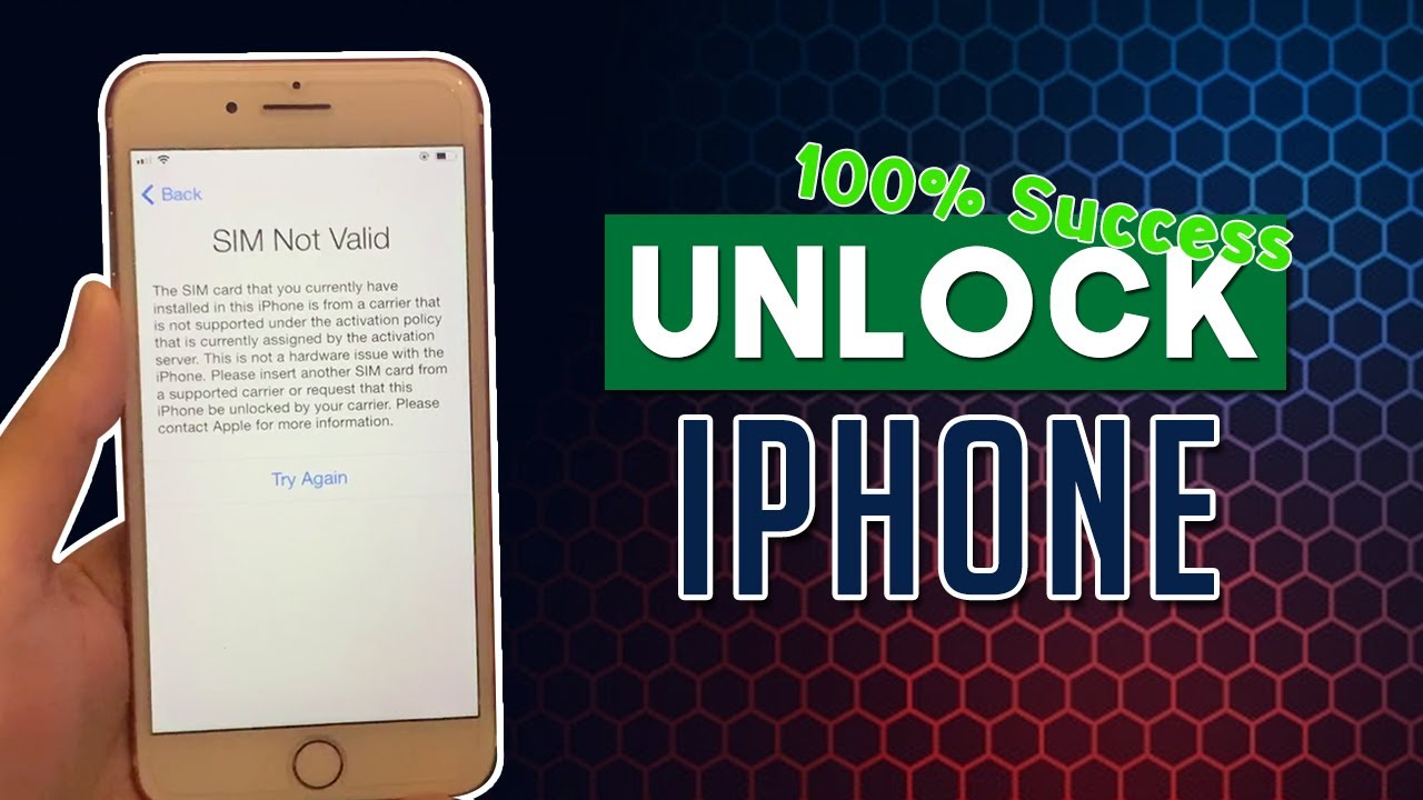 How to Carrier Unlock your iPhone 2021 (SIM Not Valid Fixed)