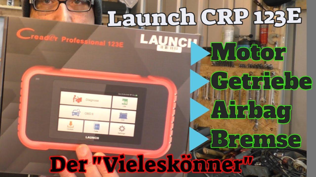 Der Vieleskönner - Launch CRP123E - Diagnose für Motor / Getriebe / Bremse / Airbag