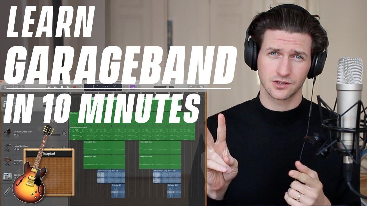 Garageband Tutorial - Learn Under 10 Minutes