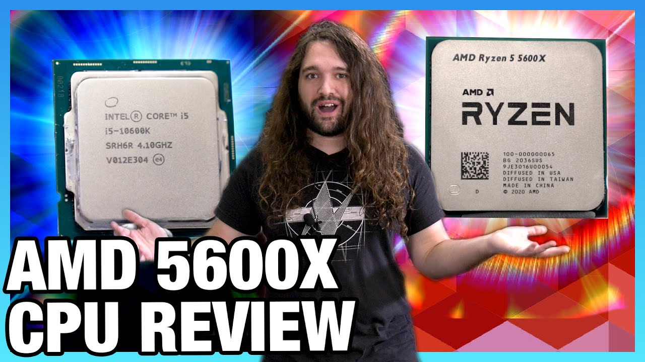 AMD Ryzen 5 5600X CPU Review & Benchmarks - New Gaming Best, & Workstation, Power