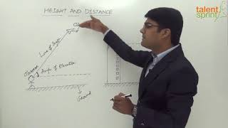 Height and Distance | Quantitative Aptitude | TalentSprint Aptitude Prep | SSC CGL | SSC CHSL | Railways | NTPC | Competitive Exams 2020