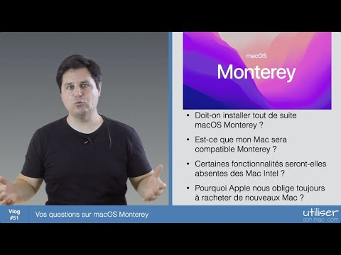 Vos questions sur macOS Monterey