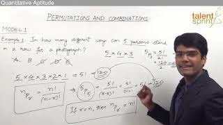 Permutations and Combinations | Quantitative Aptitude |TalentSprint | IBPS | SBI |SSC CGL |SSC CHSL |Railways |Insurance Exams |Competitive Exams 2020