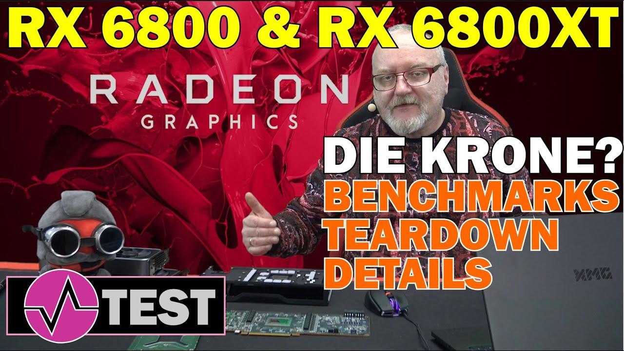 AMD Radeon RX 6800 XT und RX 6800 Review - Holt AMD die Leistungskrone und was ist mit Raytracing?