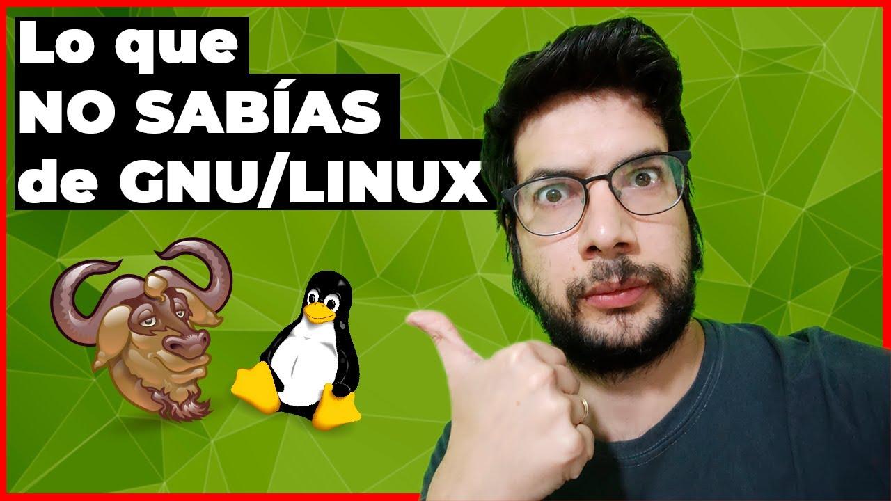 ¿LINUX o GNU/LINUX? Cuál es la DIFERENCIA | Su HISTORIA 🐧 🐮