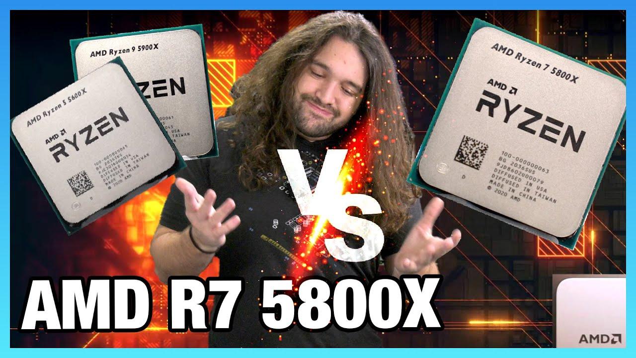 Friendly Fire: AMD Ryzen 7 5800X CPU Review & Benchmarks vs. 5600X & 5900X