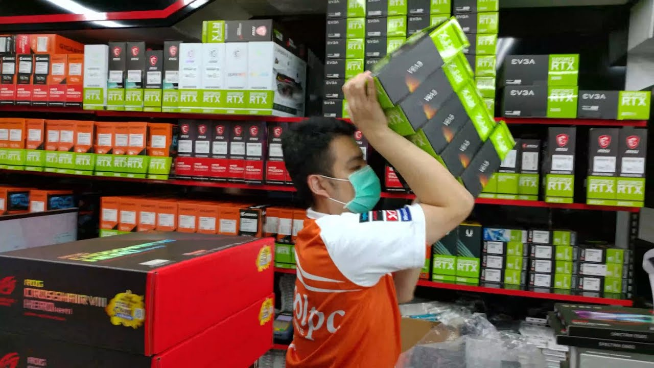 Viewing/Pricing RTX 3070 Ti GPUs in Stock...and HEY! What is he doing with all those GPUs in Stock!?