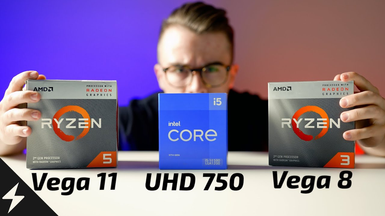 Gaming without a Graphics Card in 2021! - Intel UHD 750 vs Vega 8,11 and UHD 630