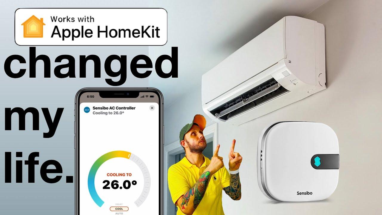 A HomeKit Device CHANGED My LIFE!   Sensibo Air