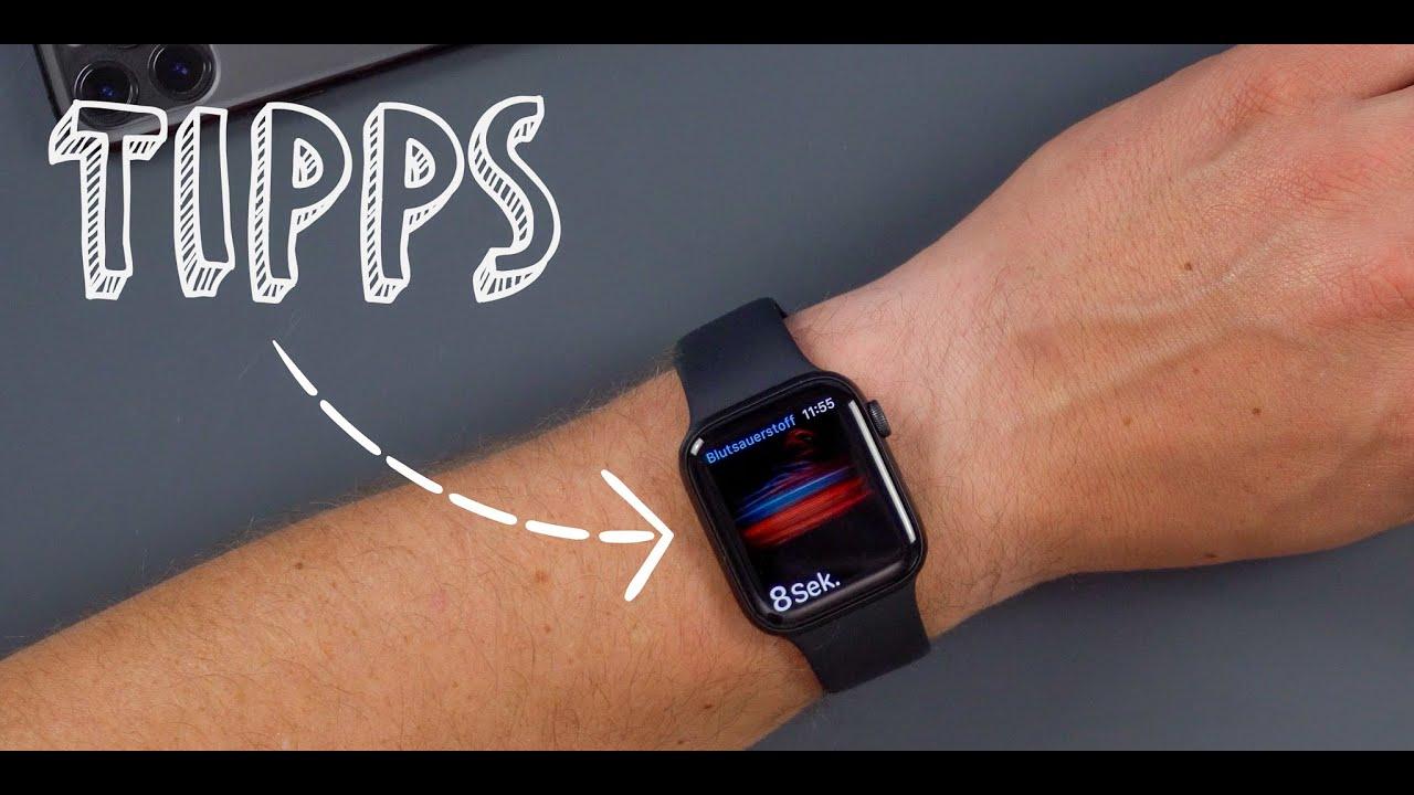 Apple Watch (Series) 6: die BESTEN Tipps, Tricks & Funktionen in watchOS 7 | deutsch