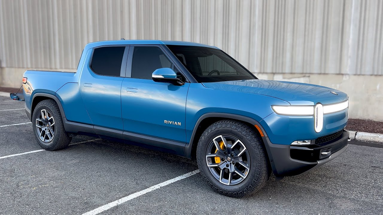 The Rivian R1T is an Incredibly Fun Electric Pickup!