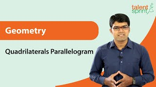 Quadrilateral | Geometry | Quantitative Aptitude | TalentSprint Aptitude Prep | SSC CGL | SSC CHSL | Railways | NTPC | Competitive Exams 2020