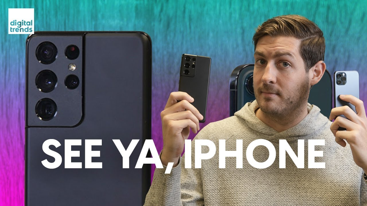 iPhone 12 Pro vs Samsung Galaxy S21 Ultra | Which would you pick?