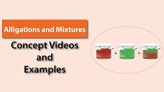 Alligations and Mixtures | Quantitative Aptitude | TalentSprint | IBPS | SBI | SSC CGL | SSC CHSL | Railways | Insurance Exams| Competitive Exams 2020