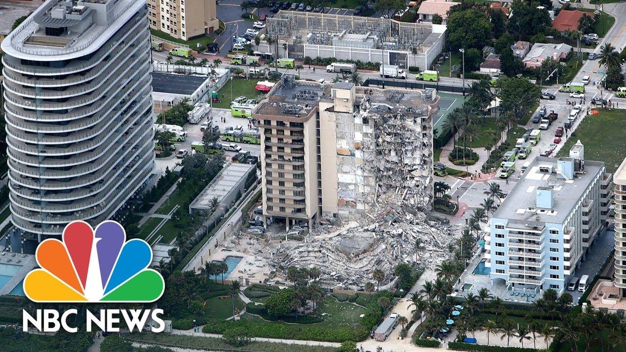 Gov. DeSantis Holds Briefing On Miami Beach Building Collapse   NBC News