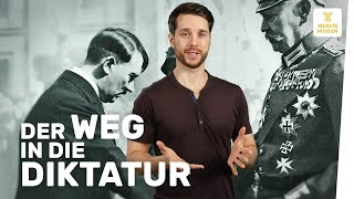 Errichtung der NS-Diktatur I Nationalsozialismus I musstewissen Geschichte