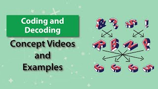 Coding and Decoding | Reasoning Ability | TalentSprint Aptitude Prep | IBPS | SBI | SSC CGL |SSC CHSL |Railways |Insurance Exams|Competitive Exam 2020