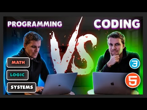 Programming vs Coding - What's the difference?
