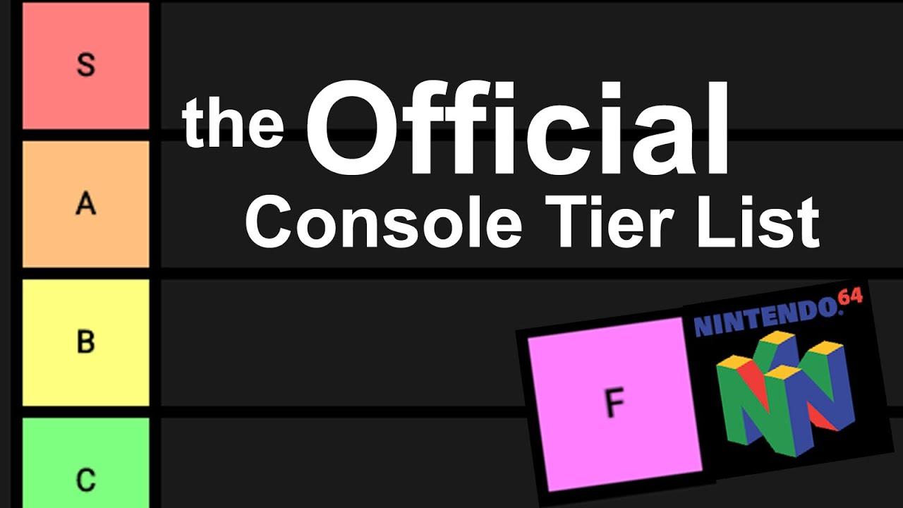 Official Console Tier List