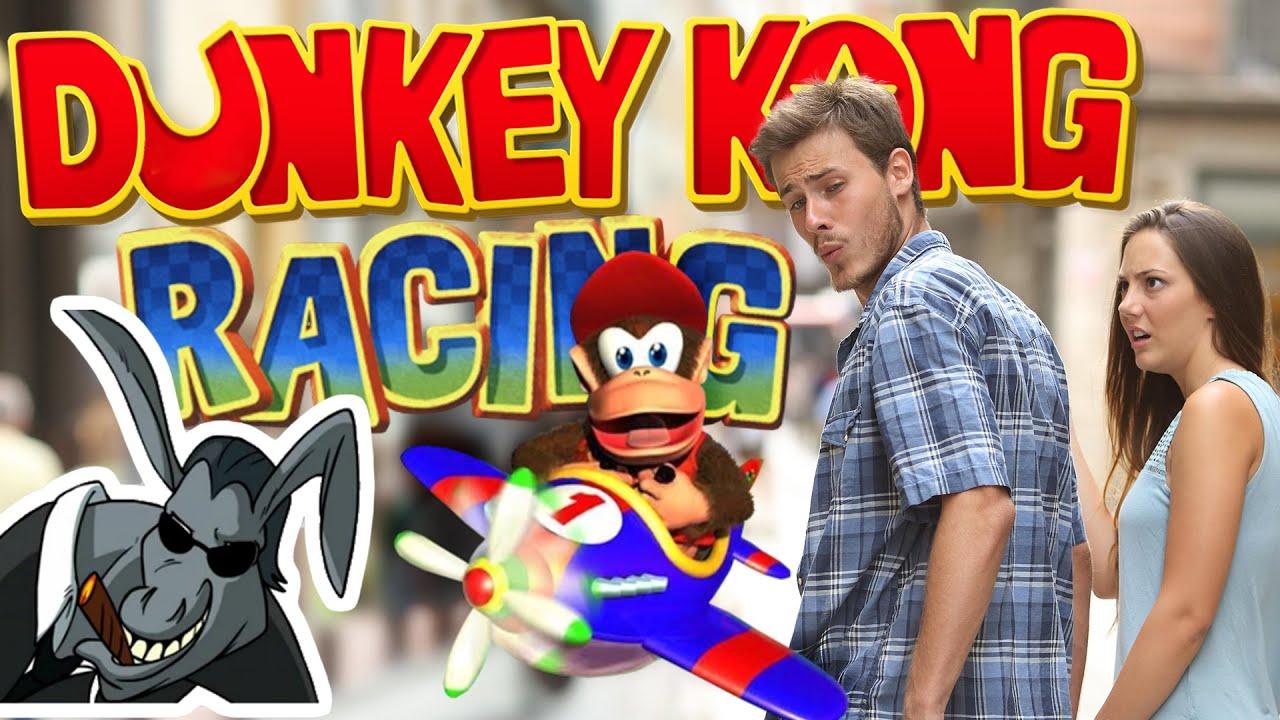 Dunkey Kong Racing   Girlfriend Dunkview