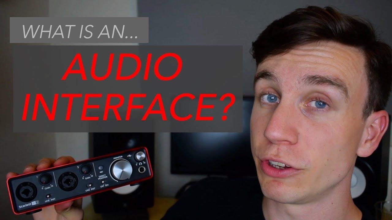 What is an audio interface? - Focusrite Scarlett 2i2 tutorial