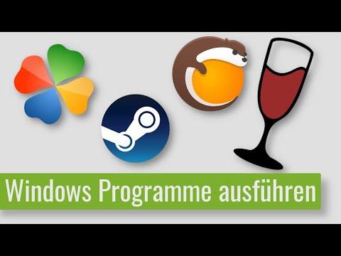 Windows Programme auf Linux Mint / Ubuntu ausführen - Tutorial für Anfänger