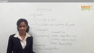 Sentences | English Language | TalentSprint Aptitude Prep | IBPS | SBI | SSC CGL | SSC CHSL | Railways | NTPC | Competitive Exams 2020