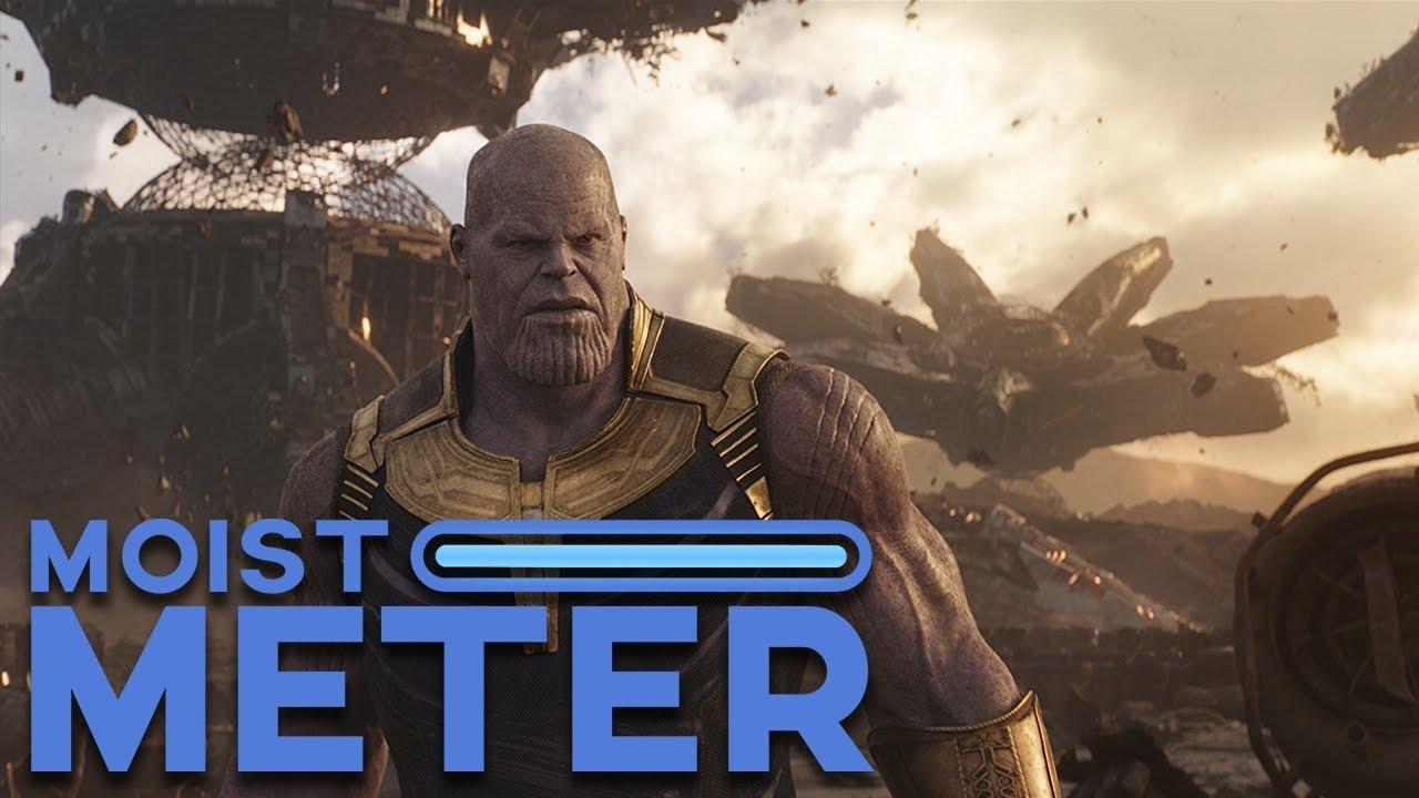 Moist Meter   Avengers: Infinity War