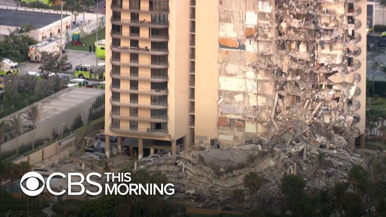 "Surfside building collapse survivor says it was ""loudest thing I've ever heard"""