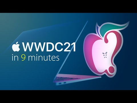 Everything Apple Announced at WWDC 2021 in 9 Minutes!