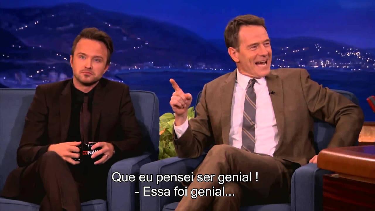 Bryan Cranston e Aaron Paul - Conan O'Brien - Legendado PT BR