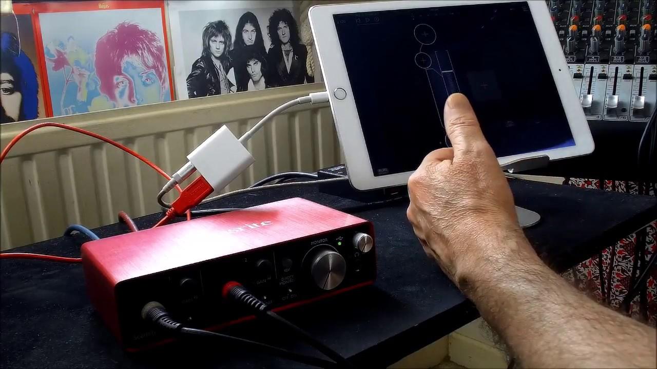Focusrite Scarlett 2i2 - FULL Set-Up Tutorial & Demo for the iPad