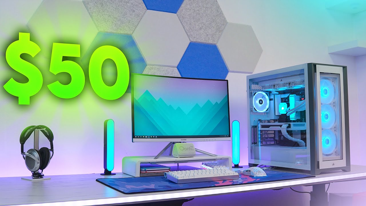 Cool Tech Under $50 For Your Setup - March