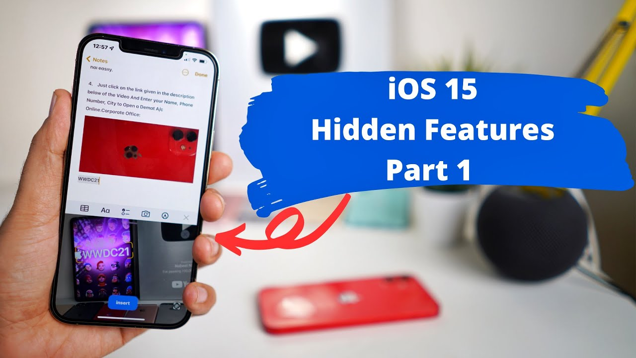 iOS 15 Hidden Features Tips & tricks PART 1