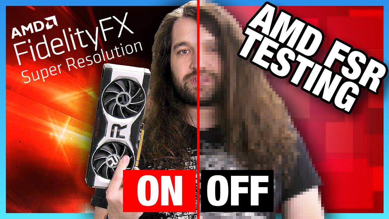 AMD FidelityFX Super Resolution Quality Comparison & Benchmarks (FSR)