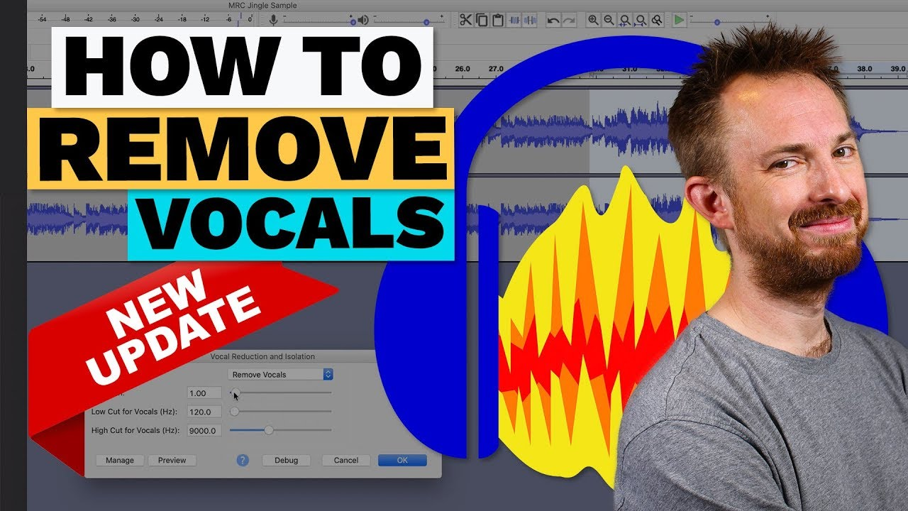 How to Remove Vocals from a Song in Audacity (Updated)