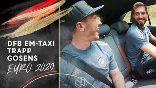 """Niklas, so war das nicht gemeint"" | DFB EM-Taxi mit Kevin Trapp & Robin Gosens"