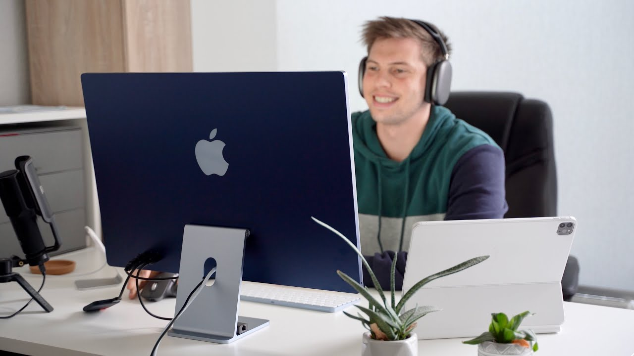 "4 Tage mit dem neuen M1 iMac 24"" | Realtalk"