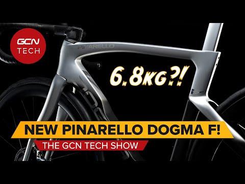 Discs & 6.8kg?! Brand New Pinarello Dogma F | GCN Tech Show Ep.183
