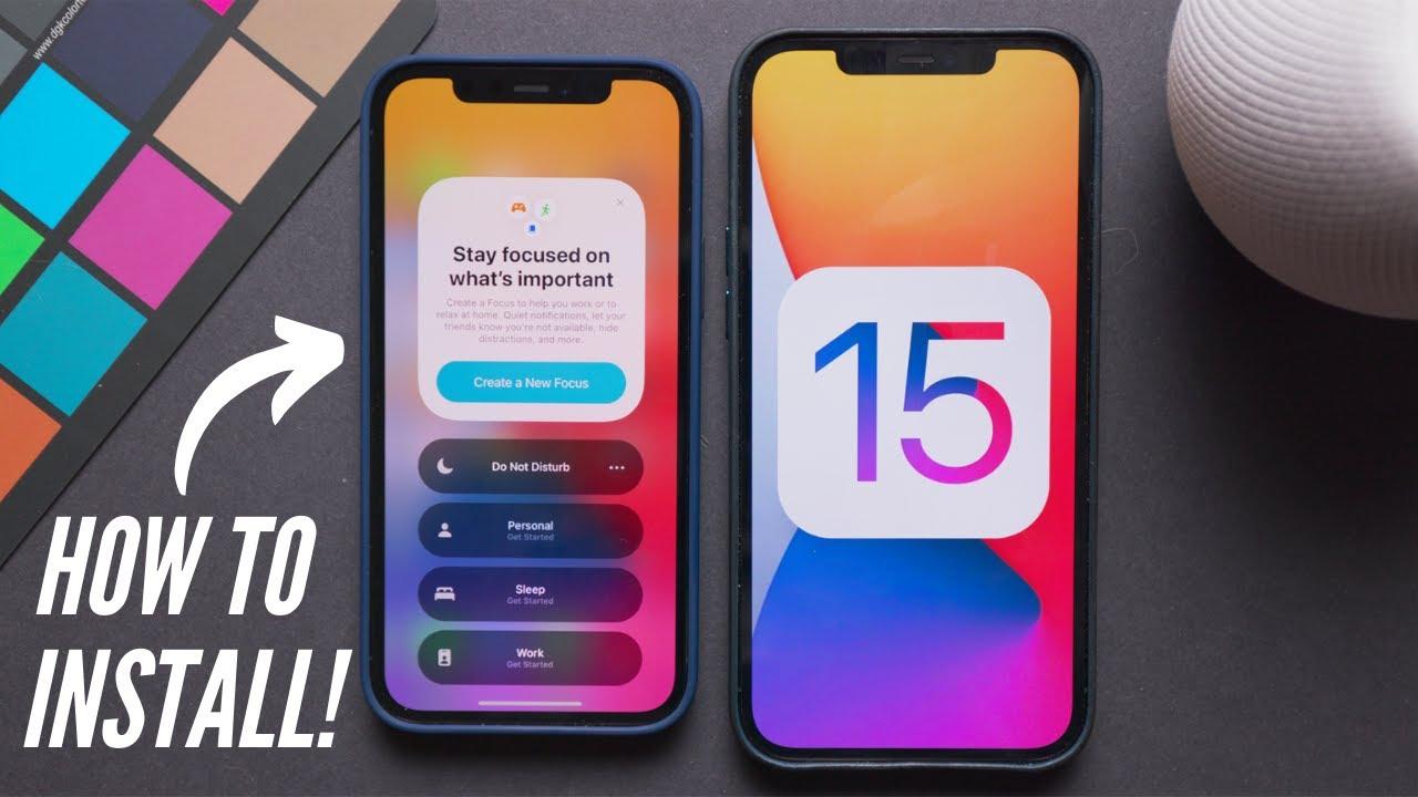 How To Install iOS 15 & iPadOS 15!