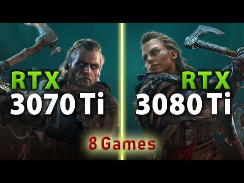 RTX 3070 Ti vs RTX 3080 Ti // 1440p, 4K
