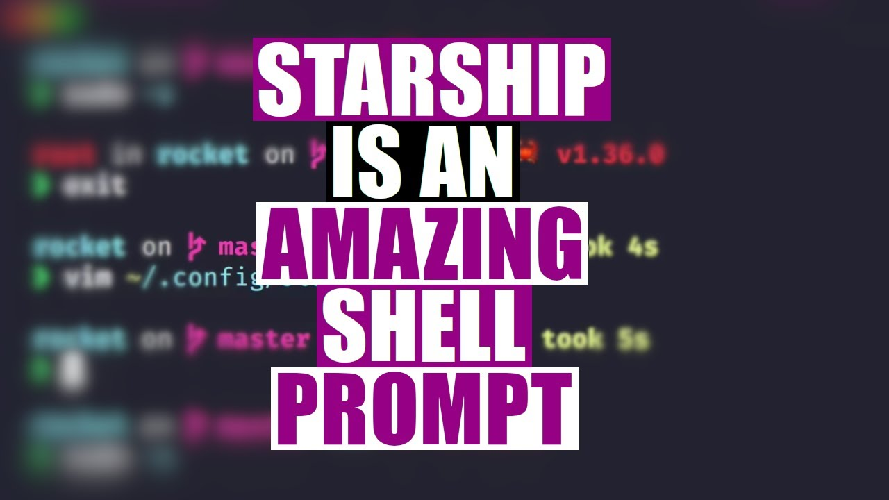 A Linux Shell Prompt That's Out Of This World!