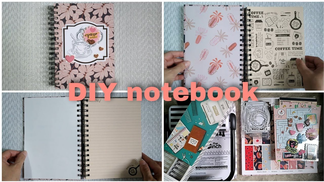 DIY notebook using Daiso notepads from start to finish