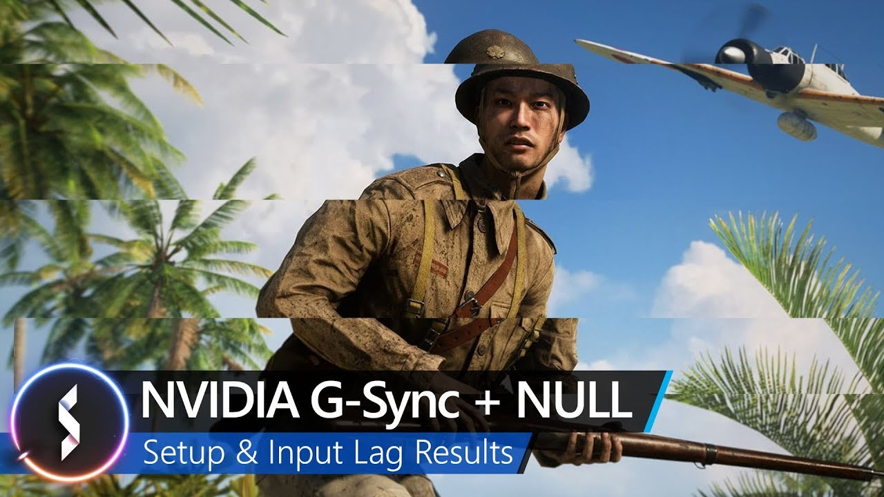 NVIDIA G-Sync + Null Setup & Input Lag Results