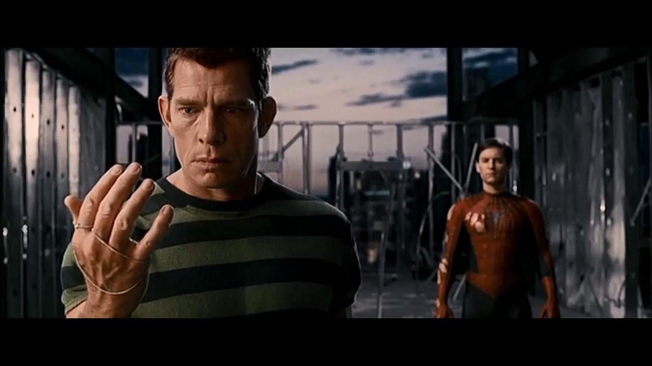 "SPIDER-MAN 3 [2007] Scene: ""I forgive you""/Sandman's apology."