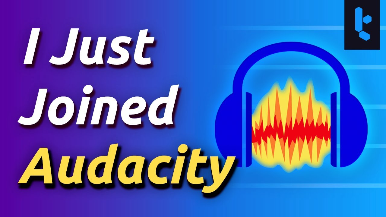 I'm now in charge of Audacity. Seriously.