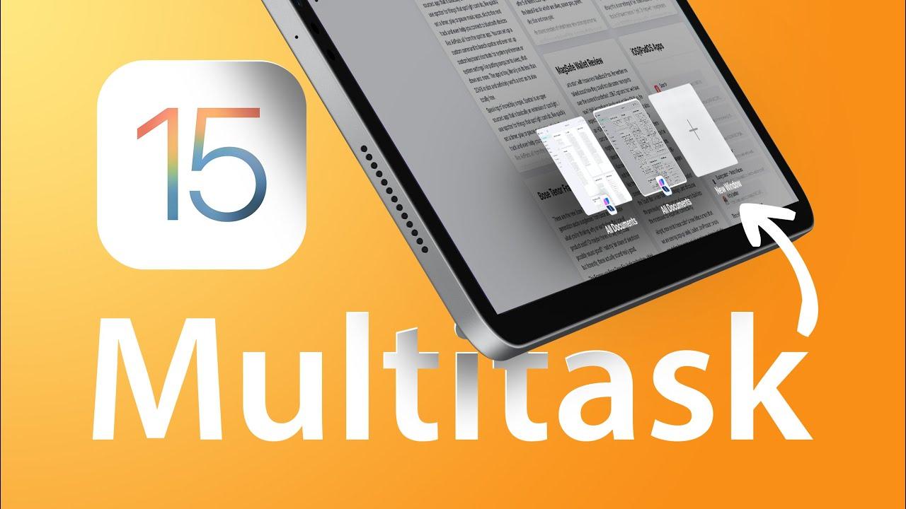 iPadOS 15 Multitasking is Much Easier!