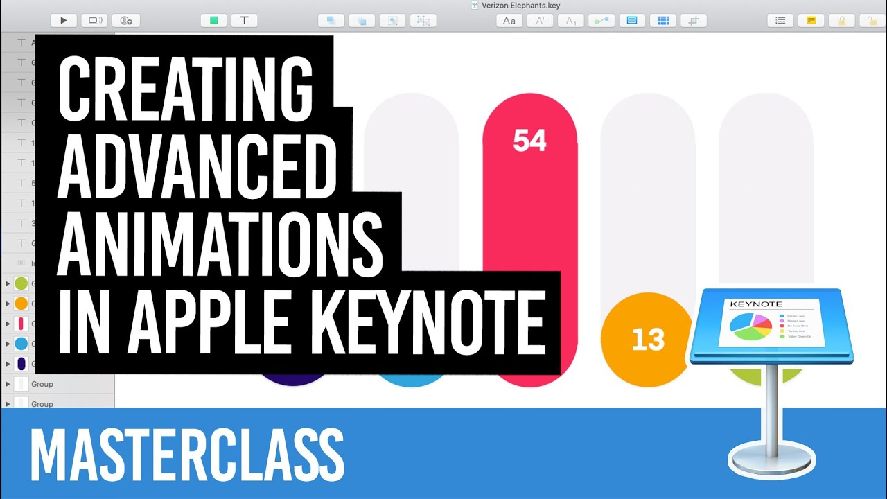 Creating advanced animations in Apple Keynote  [MASTERCLASS]